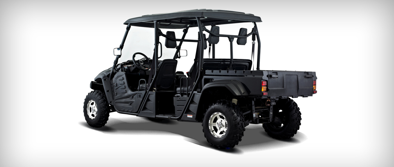 Brand New 700cc Utv Crew Cab 4 Seater Dump Bed